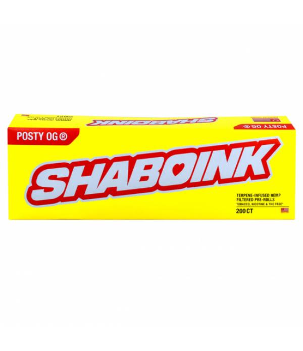 HEMP CBD SHABOINK 10PK CARTON