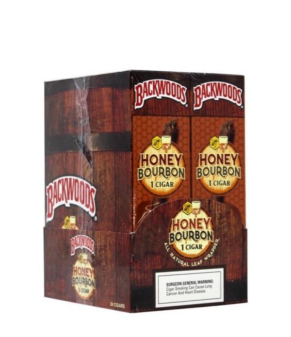 BACKWOOD SINGLE HONEY BOURBON CASE/25