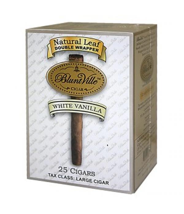 BLUNTVILLE WHITE VANILLA 25 CIGARS