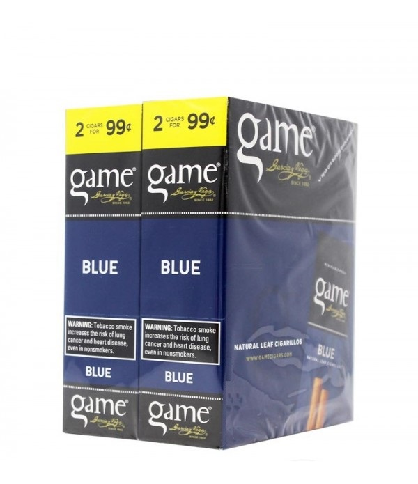 GAME CIGARILLO BLUE 2 FOR 99C
