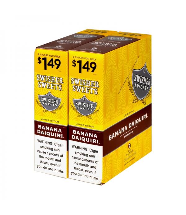 SWISHER SWEET BANANA DAIQUIRI 2 FOR 99 2...