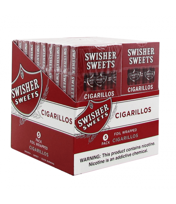 SWISHER SWEETS 5 PACK CIGARILLO TWIN PACK