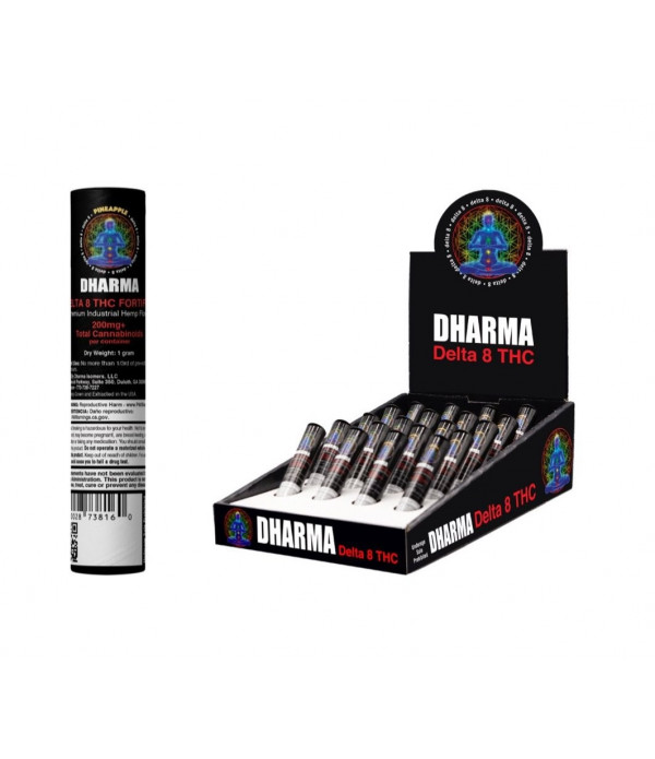 DHARMA DELTA 8 PRE-ROLL 20CT DISPLAY