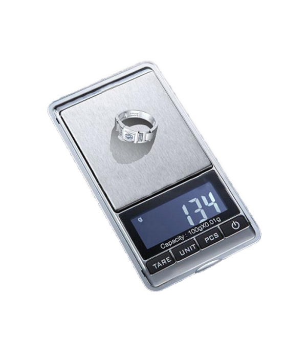 DIGIWEIGH SCALE DW-CHROME 20G BY 0.01G