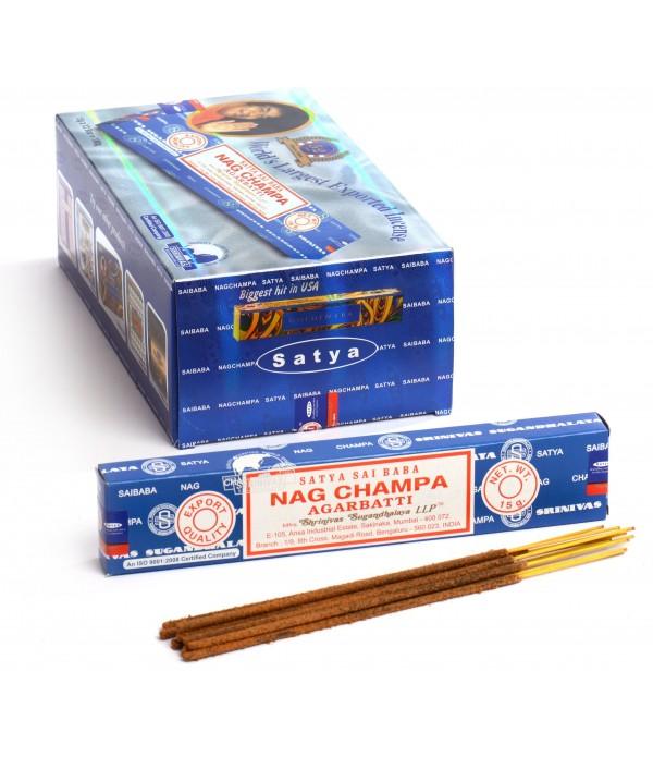 Nag Champa Incense 72CT Box
