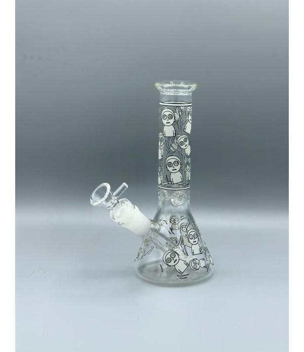 GLOW IN DARK MINI BK GLASS 3766