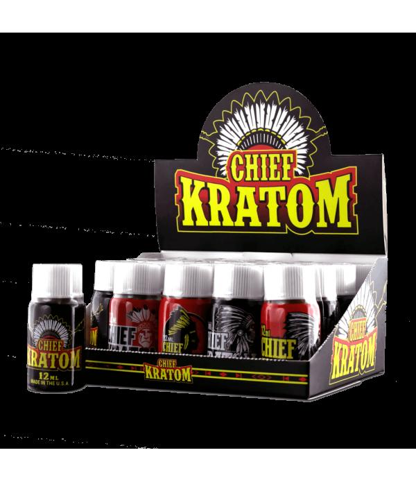 CHIEF KRATOM SHOTS 20CT/BOX
