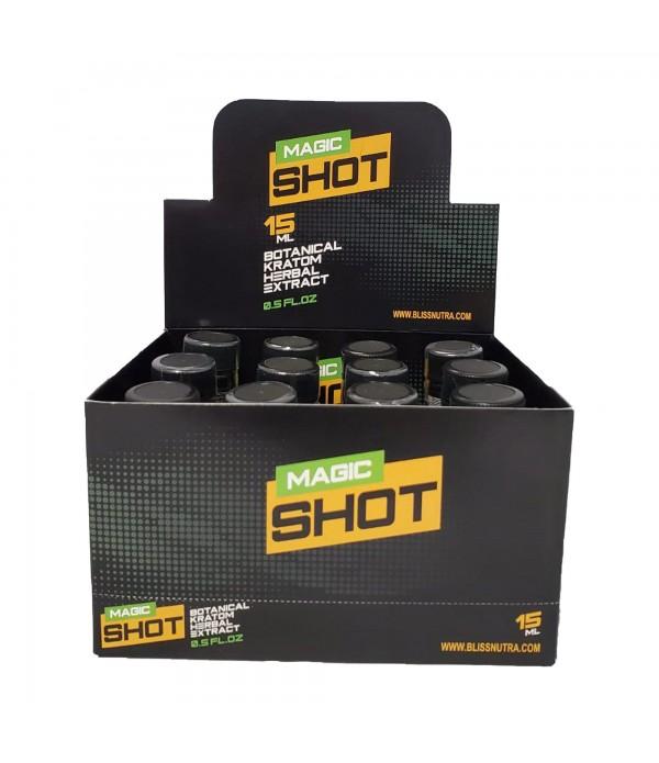 MAGIC KRATOM SHOTS 15 ML 12 PCS/BOX