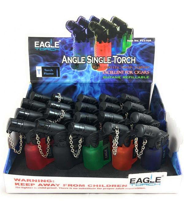 EAGLE ANGLE MINI TORCH LIGHTER - 20PC/BO...