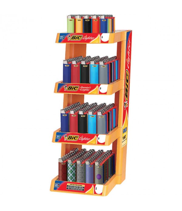 BIC COUNTER DISPLAY - 4 TIER