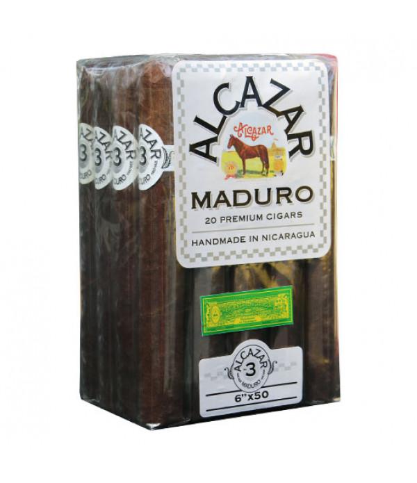 ALCAZAR BUNDLE MADURO # 3 6 X 50 20 CT