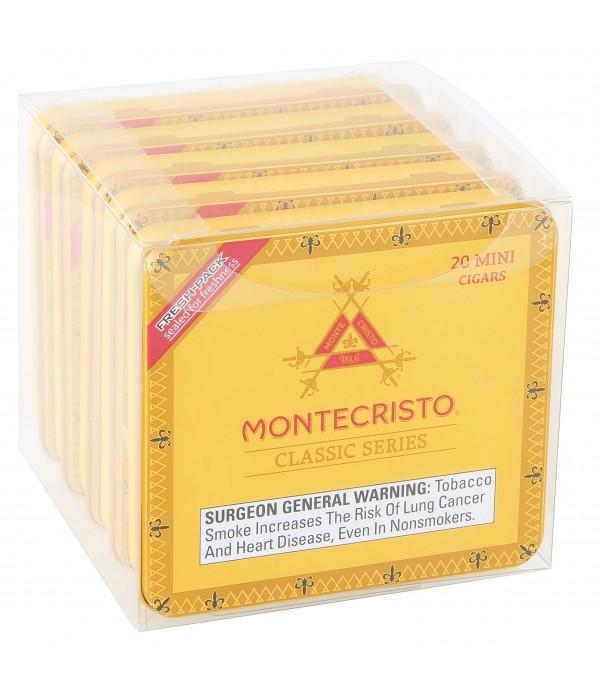 MONTECRISTO CLASSIC MINI 5/20 PK TIN 2 7...