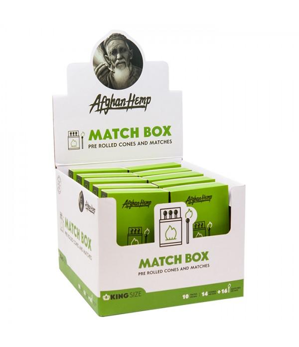 AFGHAN HEMP MATCH BOX