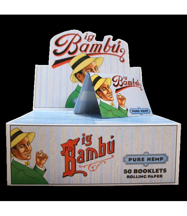 BIG BAMBU PURE HEMP 50 CT