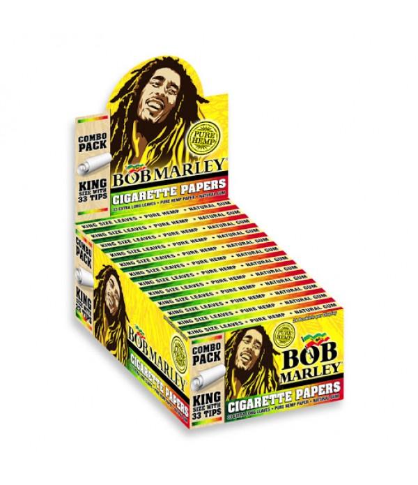 BOB MARLEY ROLLING PAPER + 33 TIPS KING ...