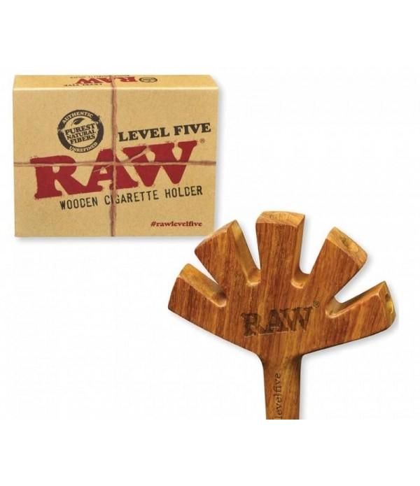 RAW-LEVEL 5 WOOD CIG HOLDER
