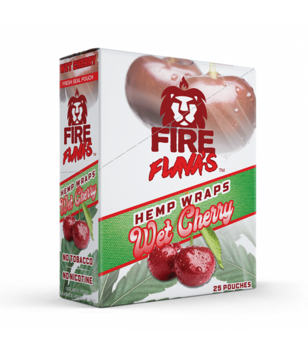 Fire Flava's Wet Cherry Hemp Wraps