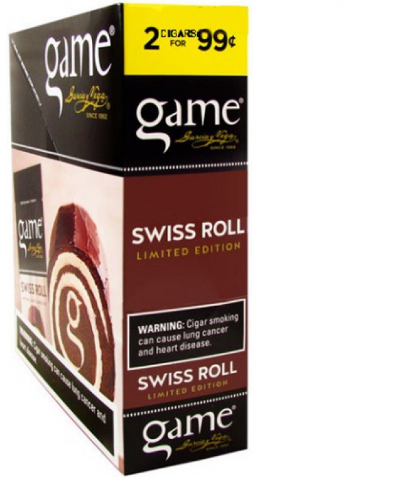 GAME CIGARALLO SWISS ROLL  2FOR99 24/CAS...