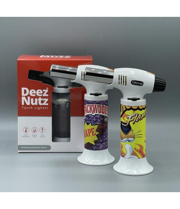 Deez Nutz Torch Lighter Red Box